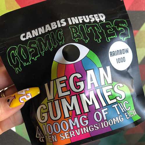 Cosmic Bites - 1000Mg Thc - Vegan - Assorted Flavors