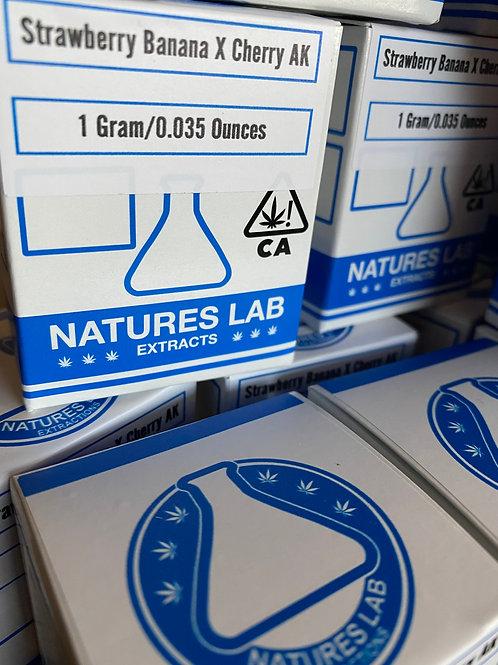 Nature's Lab Extracts - Strawberry Banana X Cherry AK - Sugar