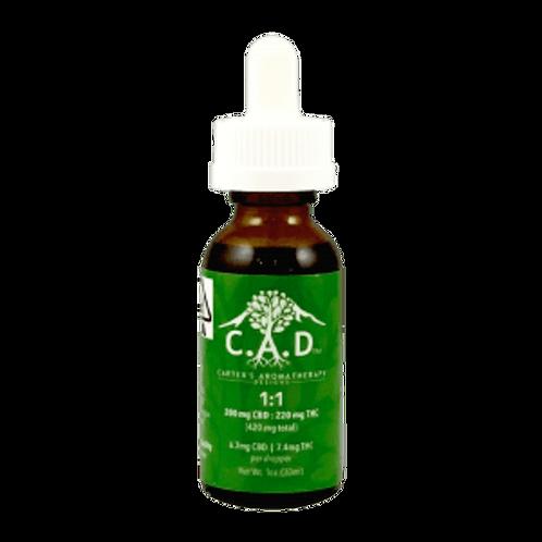 C.A.D. 1:1 Tincture - 230 Mg CBD - 234 MG THC