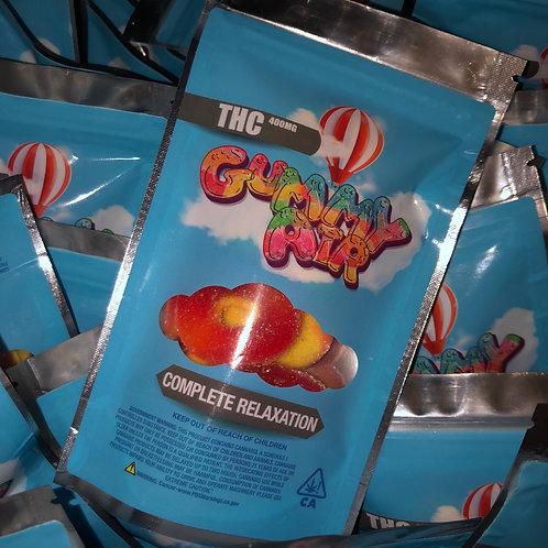 Gummy Air - Peach Rings - 400 MG THC