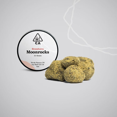 The Cookie Factory Moonrocks - Strawberry - 3.5 Grams