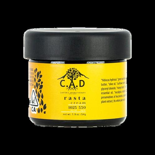 C.A.D. - Rasta Cream - 1025 MG CBD   530 MG THC