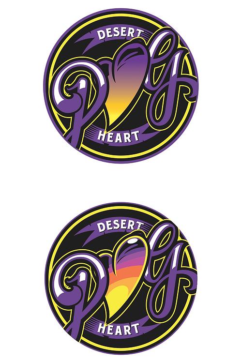 Desert Heart Garden's Dab Pad - Laker Colorway