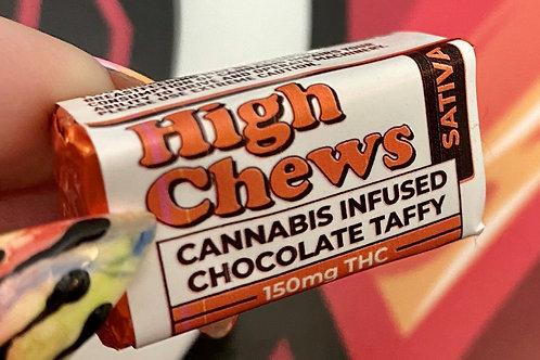 High Chews - 150 MG THC - Sativa