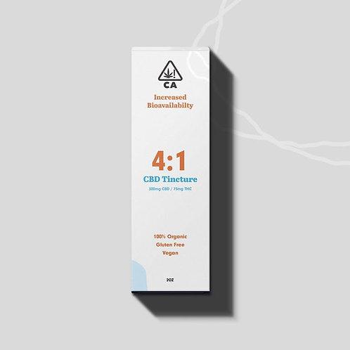 Enjoyable Tincture - 4:1 CBD/THC