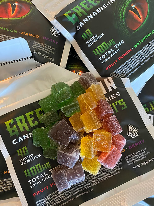Green Dragon - Multi Minis - Gummies