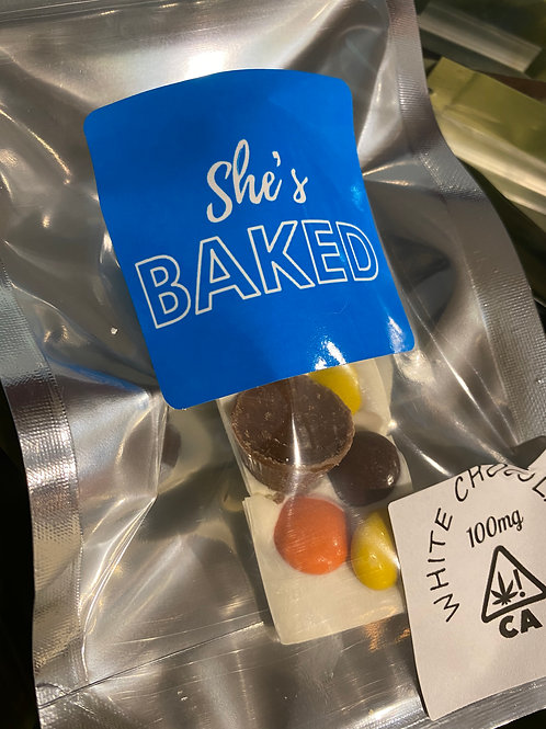 She's Baked Desserts - 100Mg Chocolate - Hitters