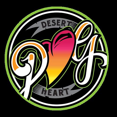 Desert Heart Garden's Dab Pad - BRIGHT NEW LOGO