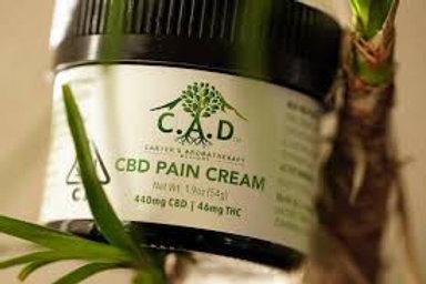 C.A.D. CBD Pain Cream - 400 MG CBD / 20 MG THC