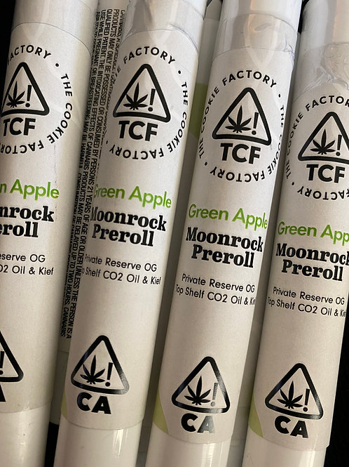 Moonrock PreRoll - Green Apple