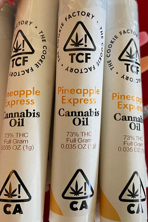 The Cookie Factory - Pineapple Express 1 Gram Cartridge