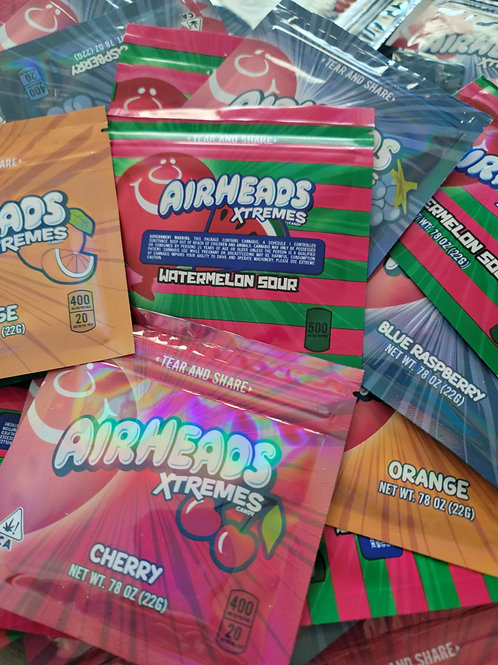 Air Heads Xtremes - Various Flavors