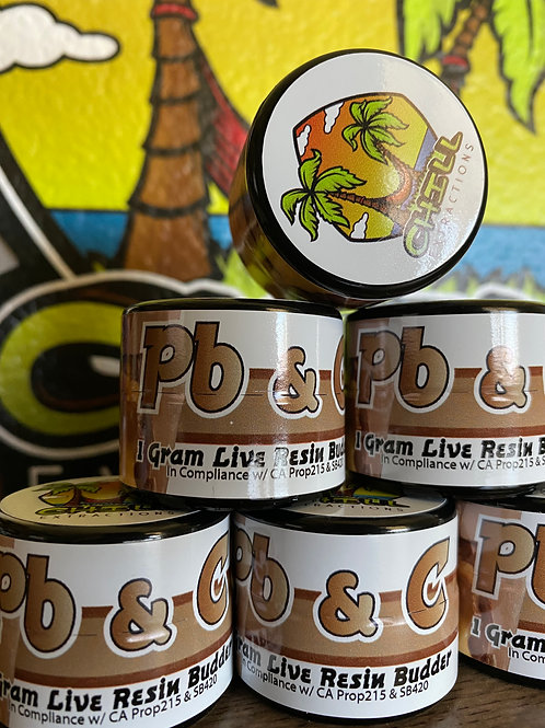 Chill Extractions  - PB & C - Live Resin Badder