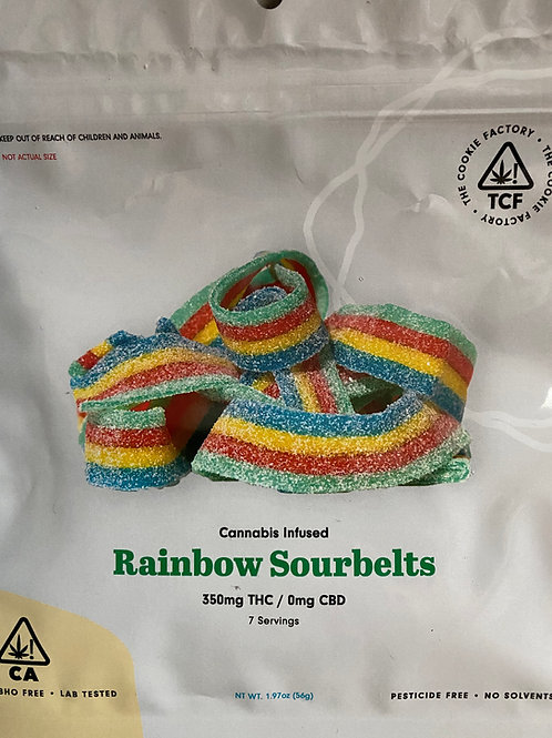 The Cookie Factory - Rainbow Sourbelts