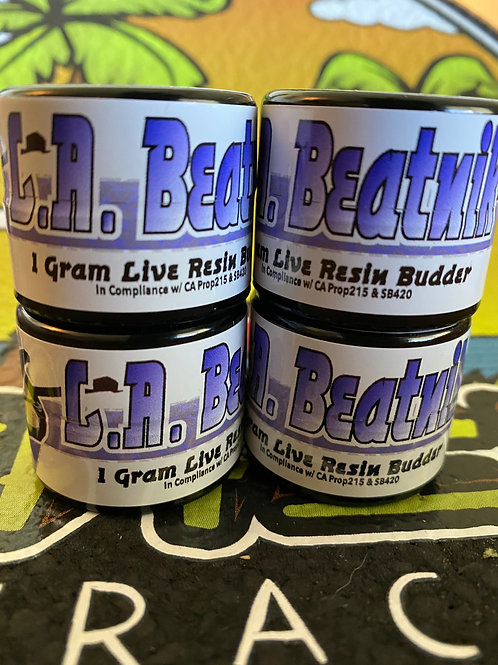 Chill Extractions  - L.A. Beatnik - Live Resin Badder
