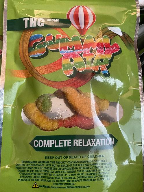Gummy Worms - 400 MG THC