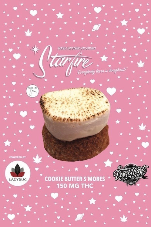 Starfire Edibles  - 150Mg - Cookie Butter S'mores Donut