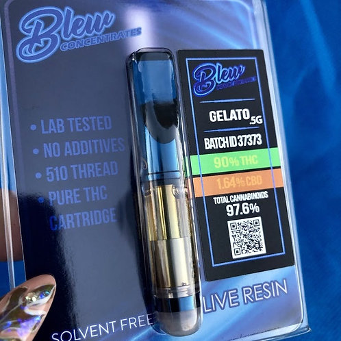 Blew Concentrates - Gelato Live Resin Cartridge 1/2G