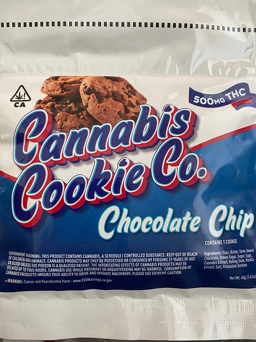 Cannabis Cookie Co. - Chocolate Chip Cookie