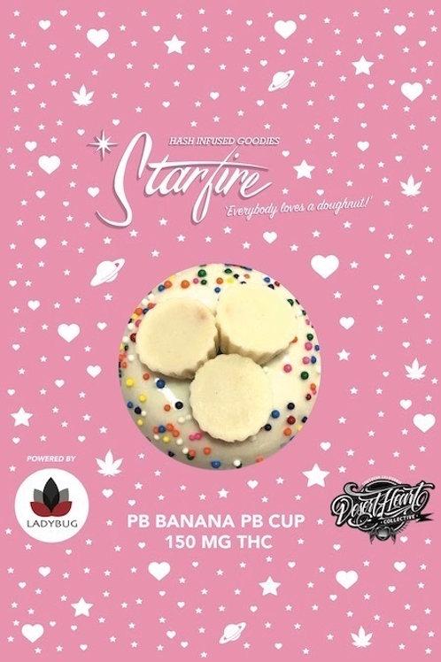 Starfire Edibles - 150Mg - PB Banana PB Cup Donut