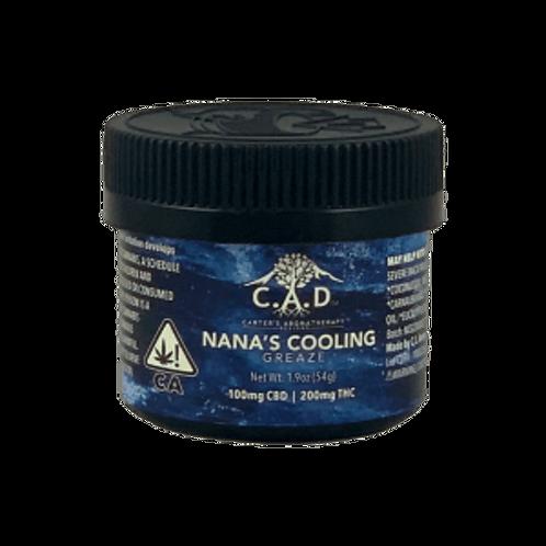 C.A.D. - Nana's Cooling Greaze - 100 MG CBD - 200 MG THC