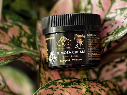 C.A.D. - Mimosa CBD Cream - 175Mg CBD 100Mg THC - Award Winner