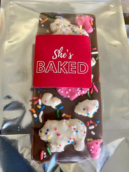 She's Baked - 300Mg Chocolate Bar - Assorted