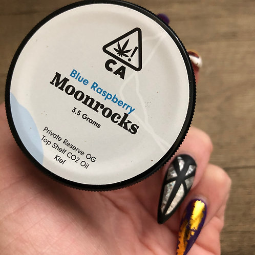 The Cookie Factory Moonrocks - Blue Raspberry - 3.5 Grams