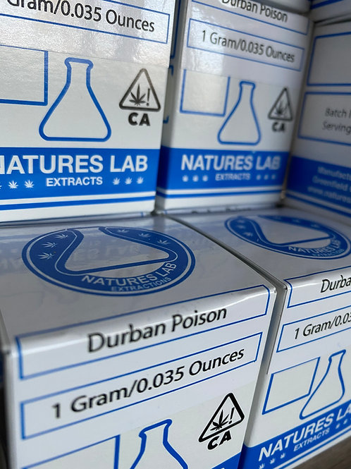 Nature's Lab Extracts - Durban Poison - Sugar