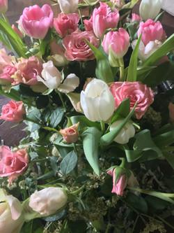 Bouquets fleurs chateau d'Estrac