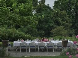 dejeuner champeter Jardin Estrac