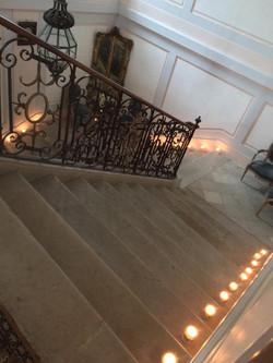 Escalier honneur Estrac