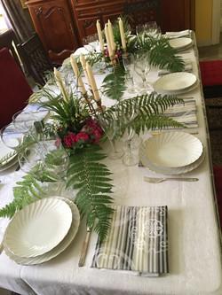 Diners surealiste chateau d'Estrac