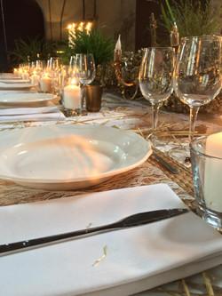 Table Estrac paille