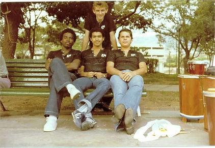 Con Los Monumentales en 1979.JPG