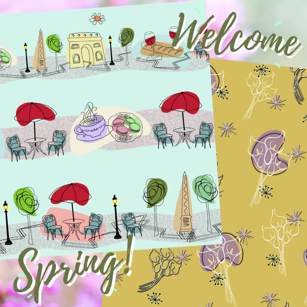 Welcome Spring with these new prints!