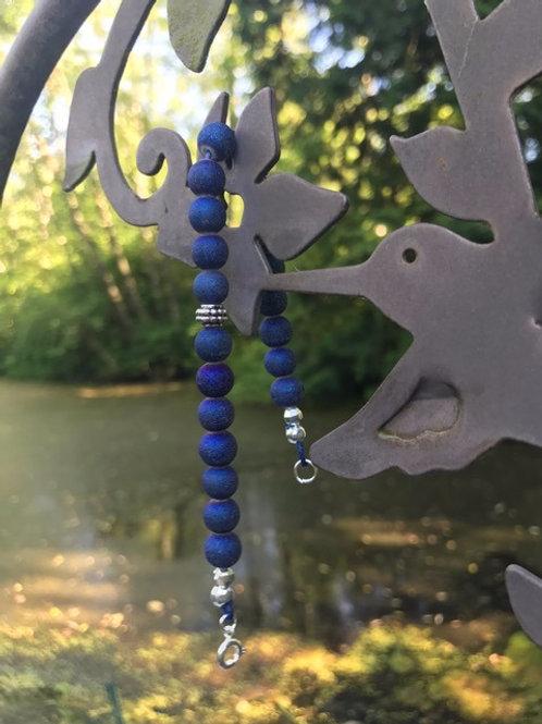 Blue Glass Bracelet (1)