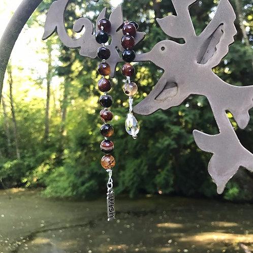 Multi-color Agate Pendulum