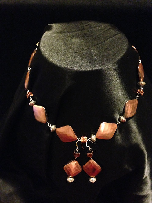 Copper Style and Silver Set