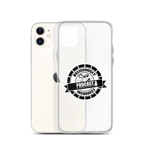 Religiously Incorrect Podcast Branded iPhone Case b