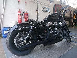 Harley Davidson Motorbike MOT Test.JPG