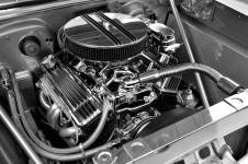 Customised Car Engine