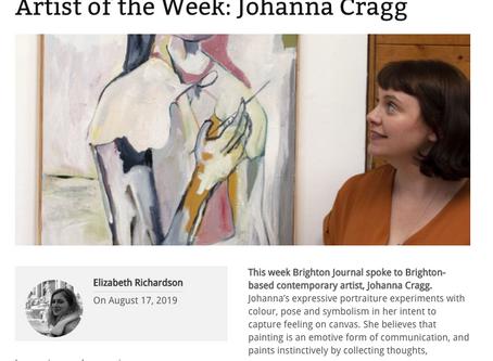 Artist of the Week! Brighton Journal