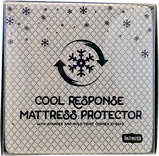 Cool response mattress protector