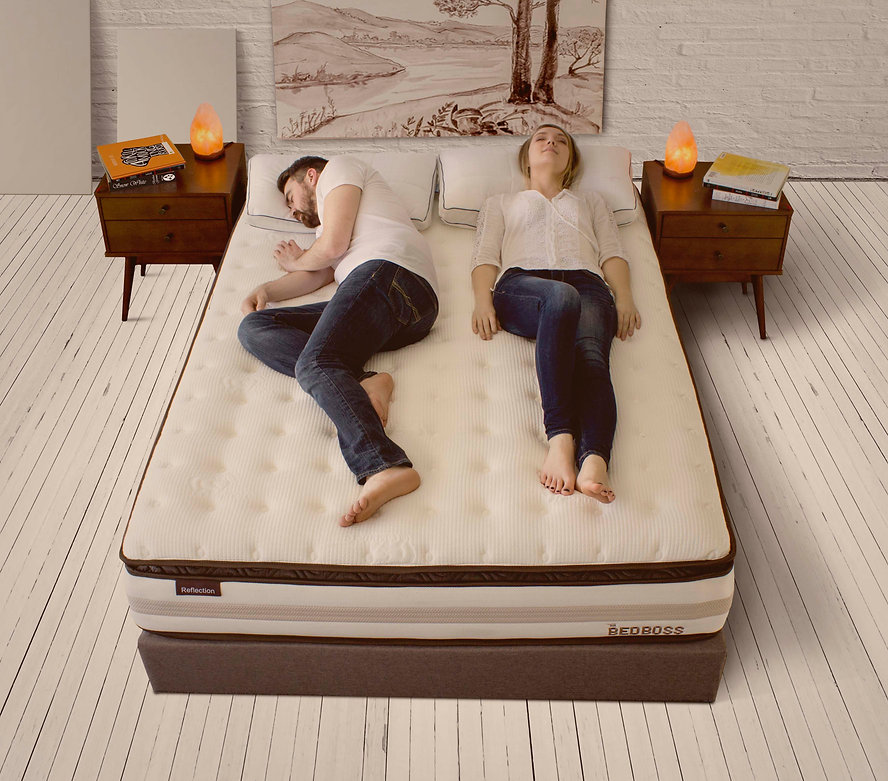 hybrid, pillowtop, & innerspring mattress by the bed boss