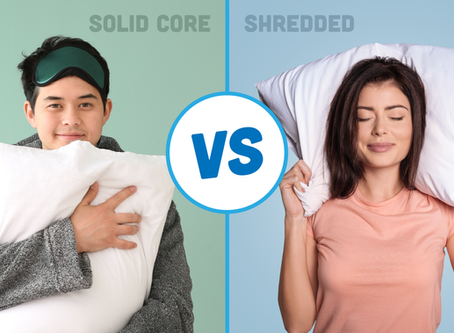 Pillow Buying Guide: Solid Core vs Shredded Memory Foam
