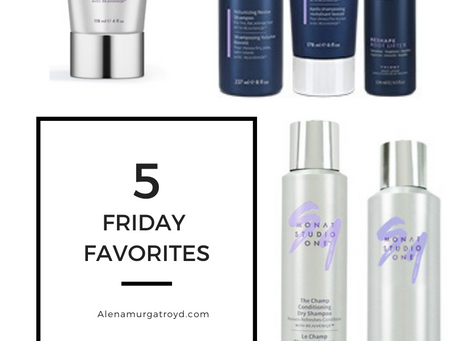 5 Friday Favs - Monat Hair Care