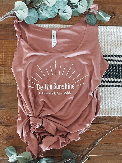 LL365 -Be The Sunshine -Mauve Tank