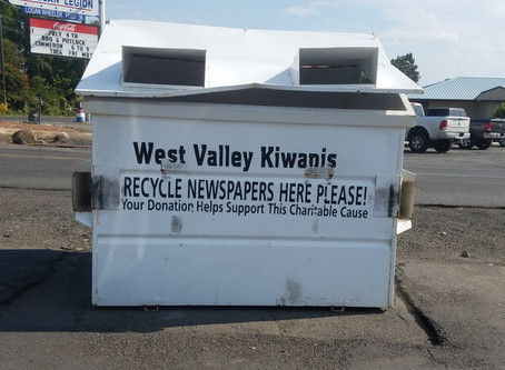 Recycling in my home town, Yakima.