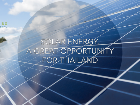 Solar Energy, a great opportunity for Thailand